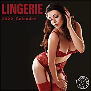 2022 Lingerie Wall Calendar by Bright Day, 12 x 12 Inch, Hot Sexy Pinup Girls Swimsuit