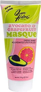 Queen Helene Tube Avocado & Grapefruit Facial Masque 6 Ounce (177ml) (6 Pack)