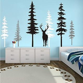 Amazon Com Wood Tree Wall Murals