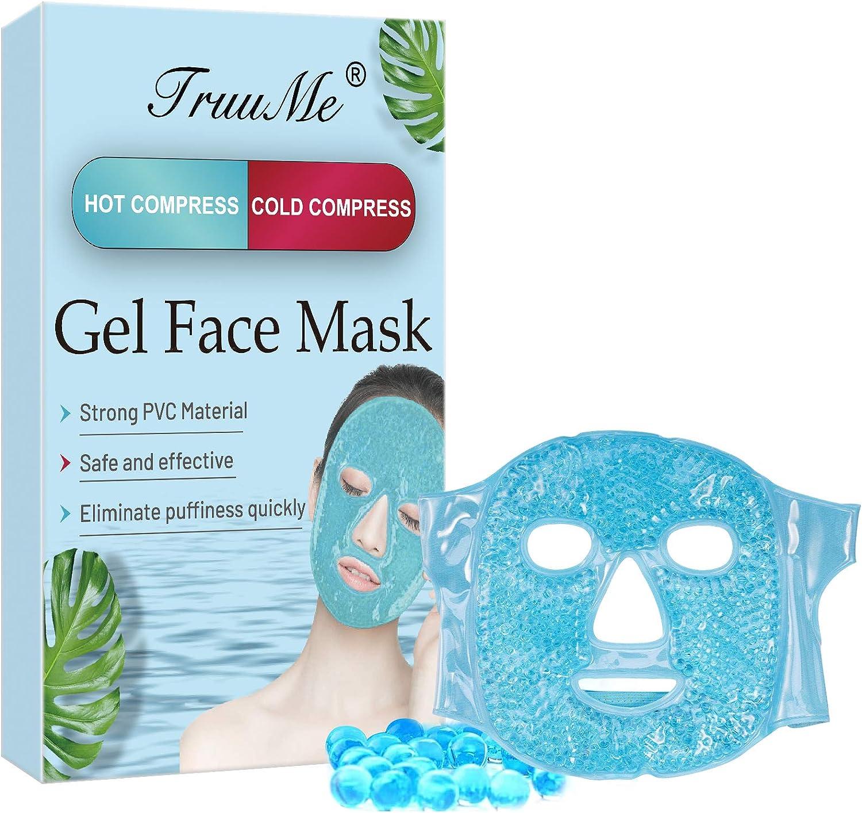 Mascarilla Refrescante de Belleza Para Cara, Se Puede Utilizar para Eliminar el Edema Ocular, las Ojeras y la Fatiga Ocular