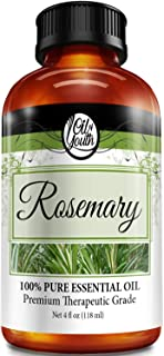 4oz Bulk Rosemary Essential Oil – Therapeutic Grade – Pure & Natural Rosemary Oil