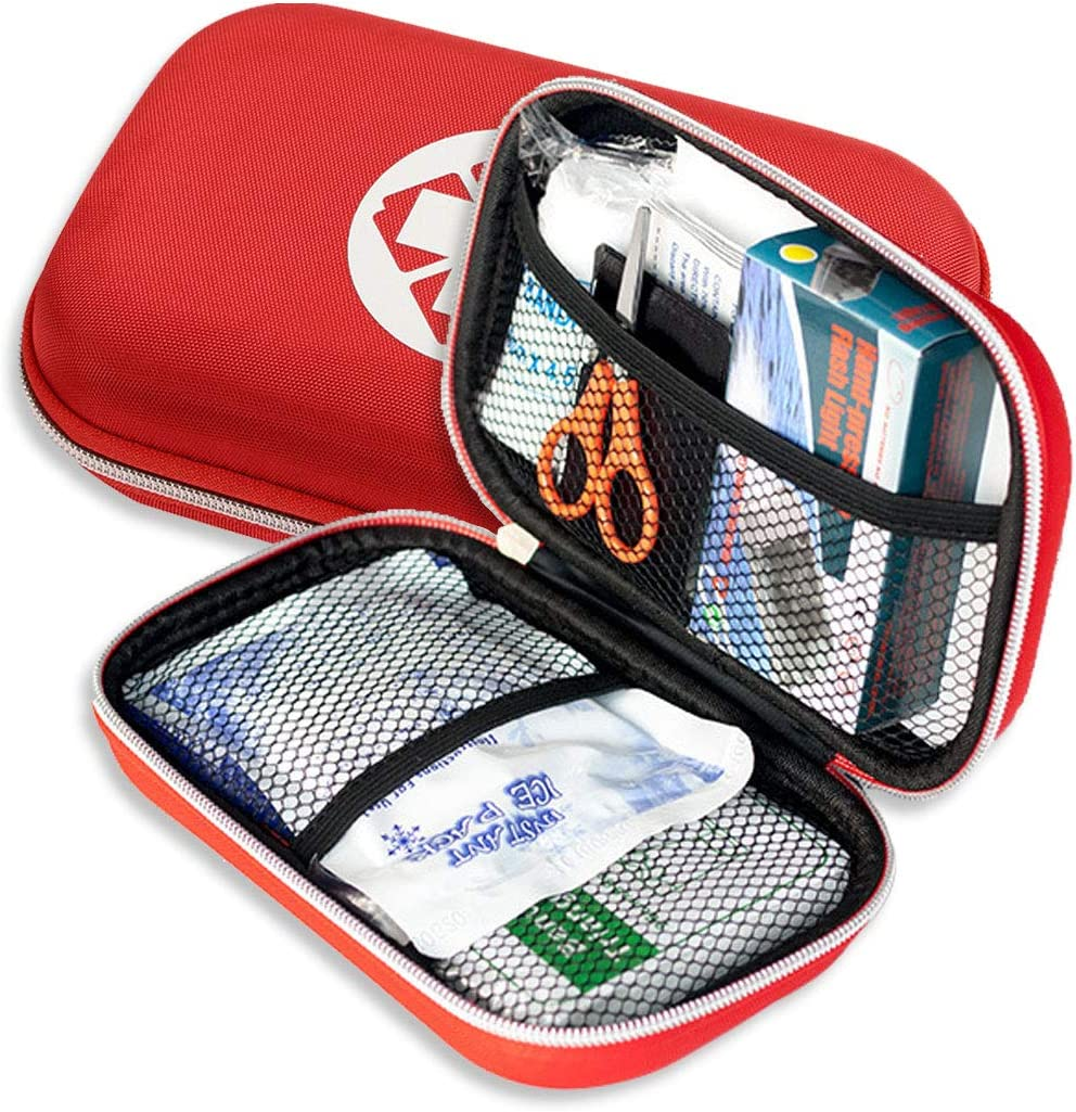 Mini First aid kit 18 Year-end annual account 5% OFF Pieces Waterproof Small Kits-Ve