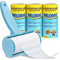 DELOMO Lint Remover Brush with 3 Refills