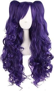 light purple ponytail wig
