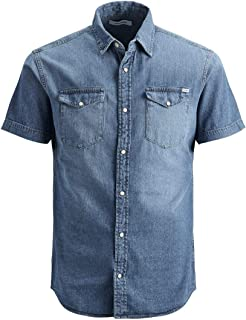 Jack & Jones Men's Jjesheridan Shirt S/S STS