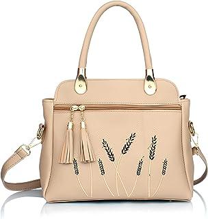 Trendstar Women's Cream Stylish Handbags (TB029)