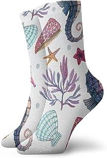 BEDKKJY, Calcetines Deportivos Sin Costura Maravilloso Hombre Calcetines Deportivos Decoración Calcetín para niños