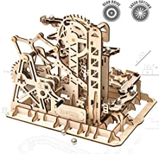 ROKR 3D Wooden Puzzle-Mechanical Model-Wooden Craft Kit-DIY Assembly Toy-Mechanical Gears Set-Brain Teaser Games-Best Gifts for Adults & Teens Age 14+(LG504-Tower Coaster)