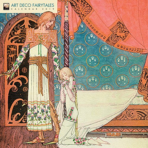 Art Déco Fairytales – Der traumhafte Art Déco 2019 (Wall-Kalender)