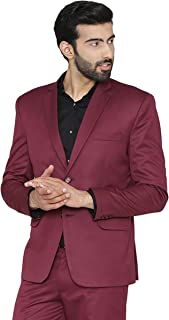 WINTAGE Men's Polyester Cotton Festive and Casual Blazer Coat Jacket