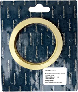 Ilsa Gasket for Turboexpress and Omnia Stovetop Espresso Maker (3- and 4-cup)