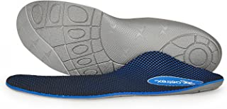 Men's Speed Orthotic   Insole for Running   Perfect for Plantar Fasciitis/Heel Pain, Flat Feet/High Arches & Pronation