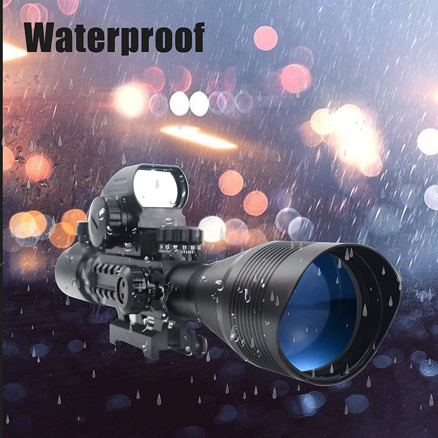 Waterproof Nature Of UUQ Holographic Sight