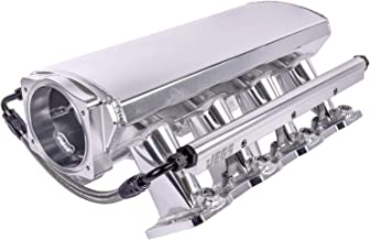 JEGS 513062 Fabricated Polished Aluminum Intake Manifold for GM LS1, LS2, LS6