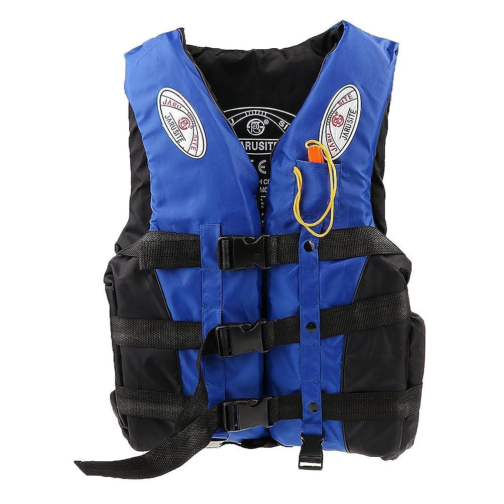 しばしばスクリーチ辞書Flameer 大人 サーフ 釣り 漂流 ライフジャケット フローティングベスト ベスト 救命胴衣 超軽量 柔軟性 3色3サイズ選べる