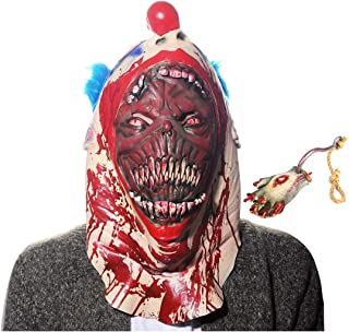 Halloween Scary Fake Body Parts and Halloween Mask