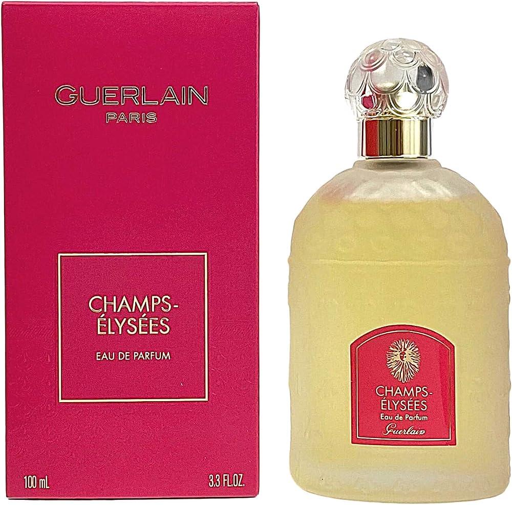 Guerlain champs-elysées, eau de parfum per donna vaporisateur 100 ml 3346470132672