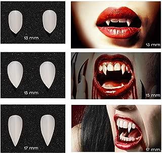 vampire teeth makeup