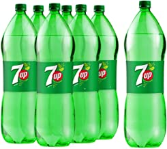 7Up, Carbonated Soft Drink, Plastic Bottle, 6 x 2.25L