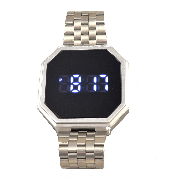SLAA SL10312S Quartz Digital Waterproof Wrist Mens Free shipping New Stainle Watch Max 66% OFF
