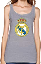 zhuyoudao Ladies Cool tanques camis-real Madrid