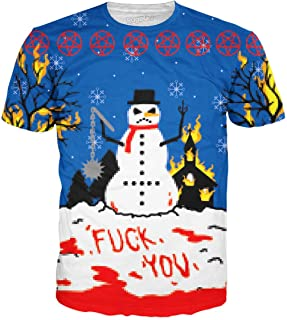 Frosty The Angry Snowman Premium All Over Print T-Shirt
