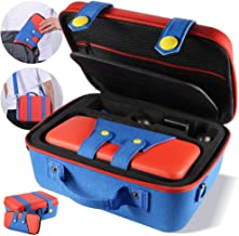 Carrying Storage Case Compatible with Nintendo Switch System,Cute and Deluxe,Protective Hard Shell Carry Bag for Nintendo ...
