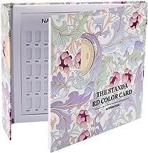 120 Colors Nail Color Chart Display, 2 Types Nail Color Display Chart Book Nail Polish Gel Color Display Card Nail Art Showing Board(Pattern Cover)