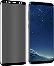 Shilling 3D Galaxy S8 Screen Protector Privacy[Upgrade Version] Anti-spy Tempered Glass Screen Film 9H Hardness Anti-Scratch Anti-Peep Shield for Samsung Galaxy S8 (5.8