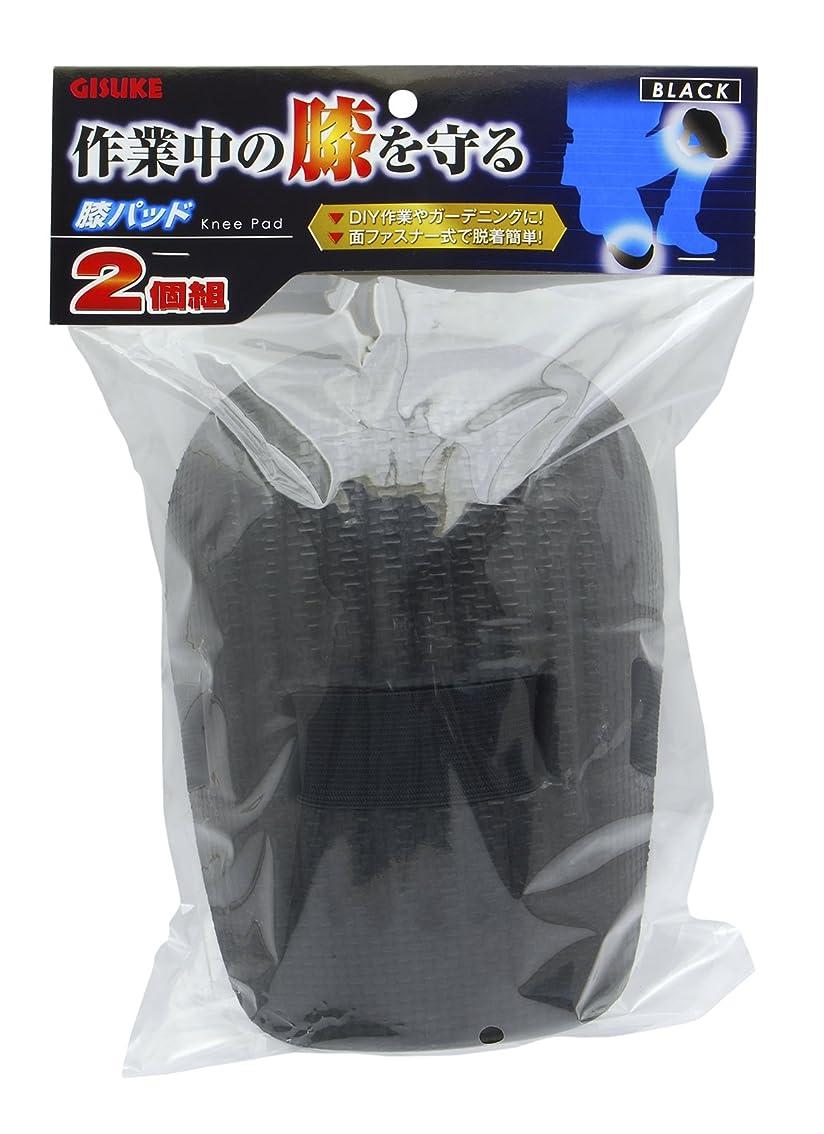 発見する衰えるシマウマ高儀 GISUKE 膝パッド 2個組BLACK