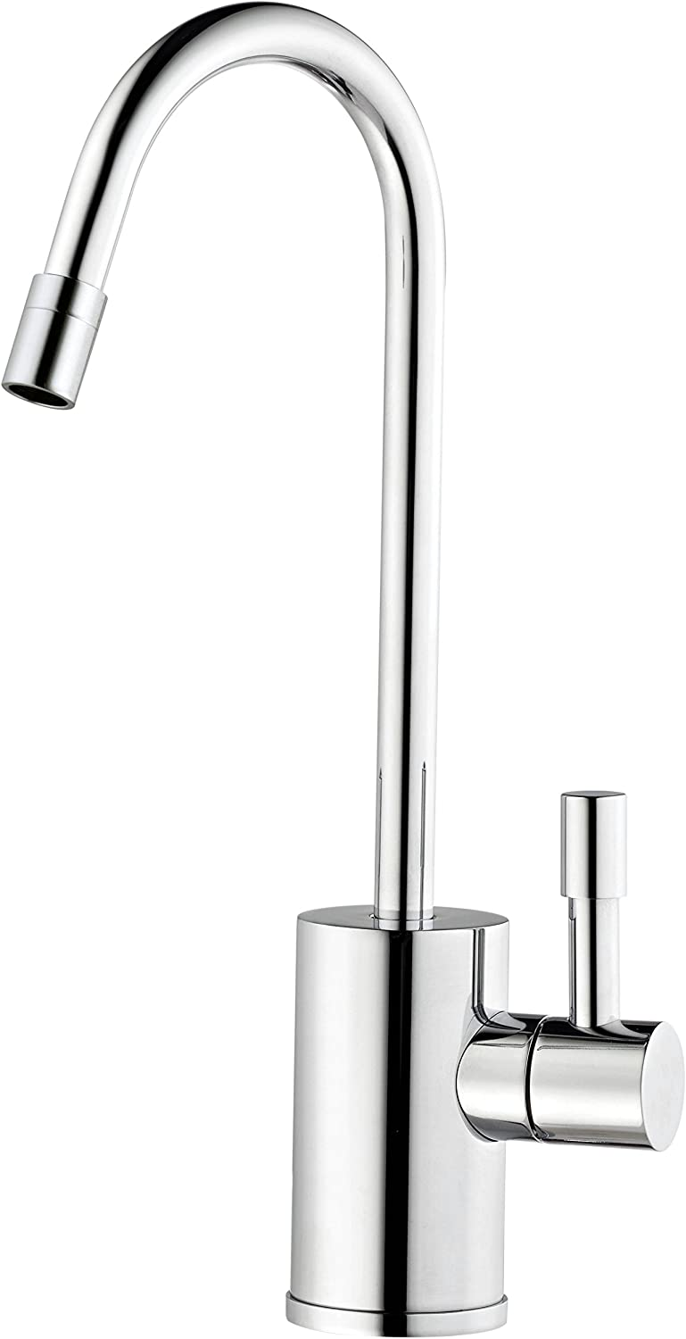 Ready Hot RH-F570-CH Single Lever Faucet for Hot Water Only, Chrome Finish by Ready Hot