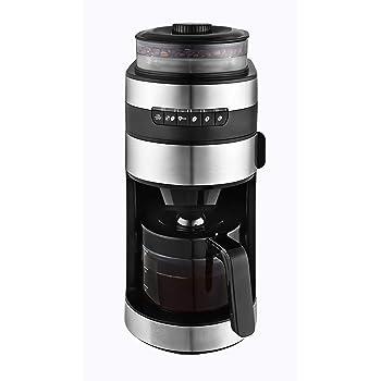 Philips Grind & Brew HD7769/00 - Cafetera (Independiente, Cafetera de filtro, 1,2 L, Molinillo integrado, 1000 W, Negro, Acero inoxidable): Amazon.es: Hogar