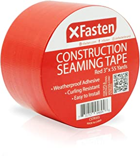 XFasten Construction Seaming Tape Red, 3