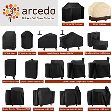 Arcedo Grill Griddle Cover for Blackstone 36 Inch Grill, Waterproof Flat Top Gas Grill Griddle Station Cover, Heavy Duty Outd