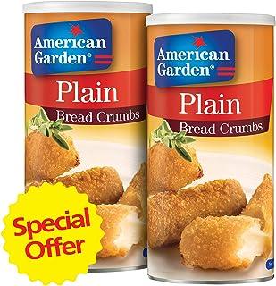 American Garden Plain Bread Crumbs, 425 gm (Pack of 2)