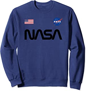 Logo de ver de la NASA avec drapeau USA Sweatshirt