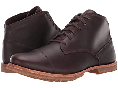 Timberland Boot Company Bardstown Waterproof Chukka (Dark Brown Full-Grain) Men