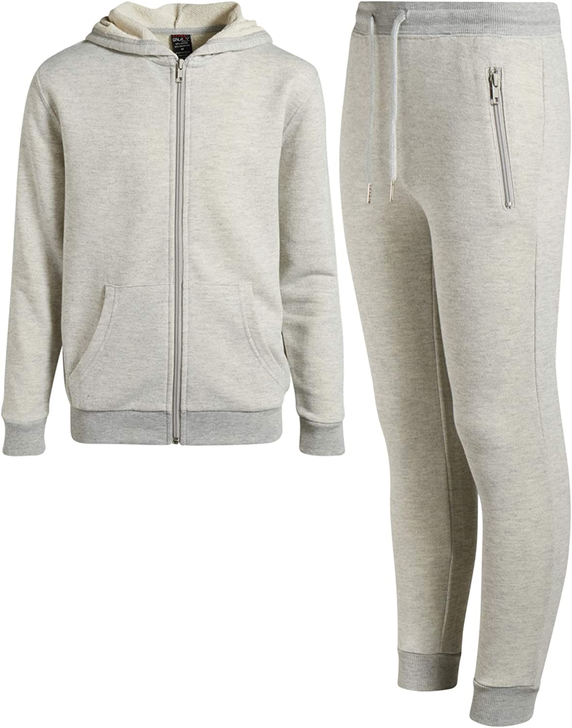 Galaxy by Harvic Boys 2-Piece Active French Terry Hoodie and Jogger Set