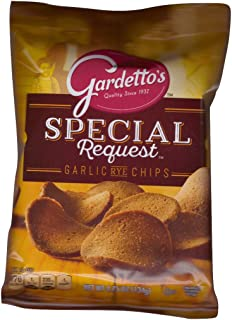 Gardetto's Special Request Roasted Garlic Rye Chips, 4.75 OZ - 7 Pack