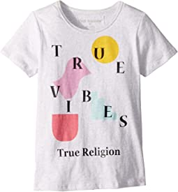 True Religion Kids - True Vibes Tee (Toddler/Little Kids)