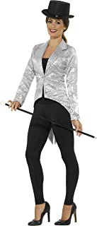 Women's Sequin Tailcoat Jacket, Ladies
