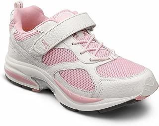 DR. COMFORT Women's Victory White Diabetic Athletic Shoes