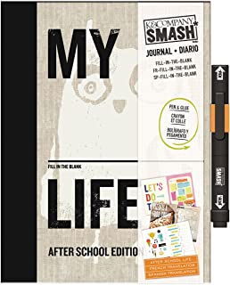 K&Company 30-686649 SMASH My Fill-in-The-Blank Life After School Edition Scrapbook