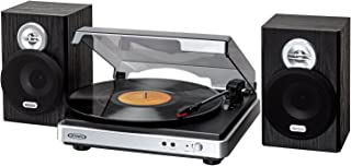 JENSEN JTA-325 3-Speed Stereo Turntable with Stereo Speakers