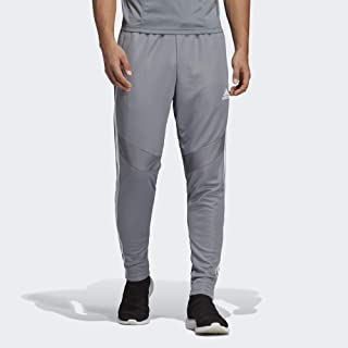 grey and orange track pants