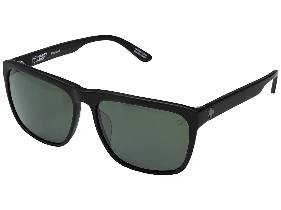 Spy Optic Neptune (Matte Black/Happy Gray Green Polar) Fashion Sunglasses