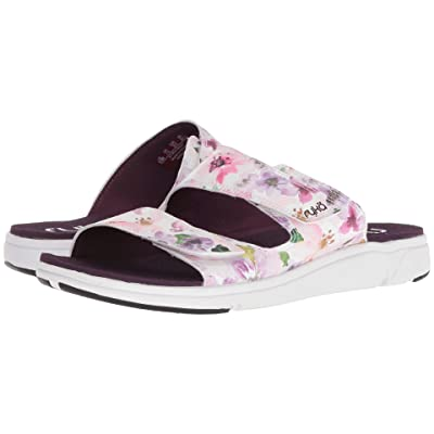 Ryka Marilyn (Italian Plum/White/Black) Women