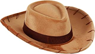 elope Disney Pixar Toy Story Woody Cowboy Hat for Kids