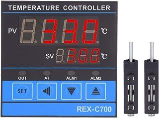 Inteligentny regulator temperatury, cyfrowy regulator temperatury, bardzo dokładna regulacja PID RELAIS + wyjście SSR REX-...