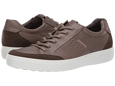 ECCO Soft 7 Relaxed Sneaker (Tarmac/Dark Clay) Men